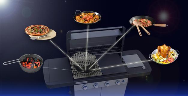 adaptateur culinary modular campingaz raviday barbecue. Black Bedroom Furniture Sets. Home Design Ideas