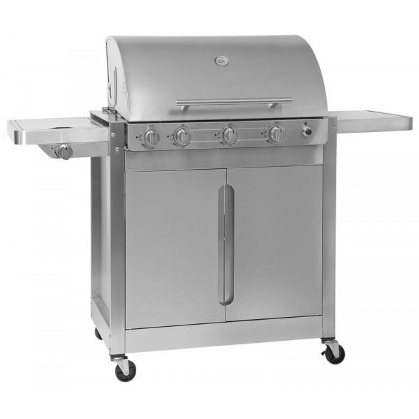 barbecue gaz 4 br leurs r chaud lat ral brahma 5 2 inox barbecook. Black Bedroom Furniture Sets. Home Design Ideas