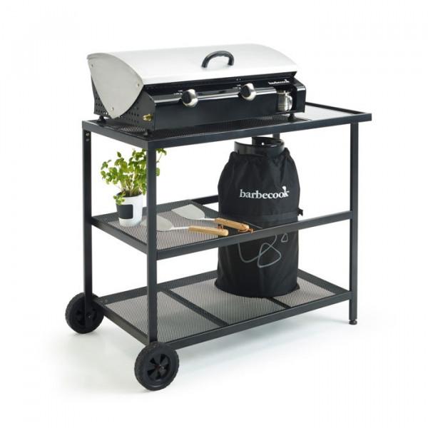chariot de jardin pour plancha barbecook ep raviday. Black Bedroom Furniture Sets. Home Design Ideas