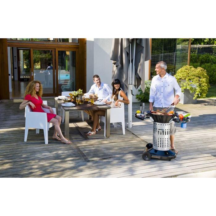 barbecue classique charbon bonesco quick start large. Black Bedroom Furniture Sets. Home Design Ideas