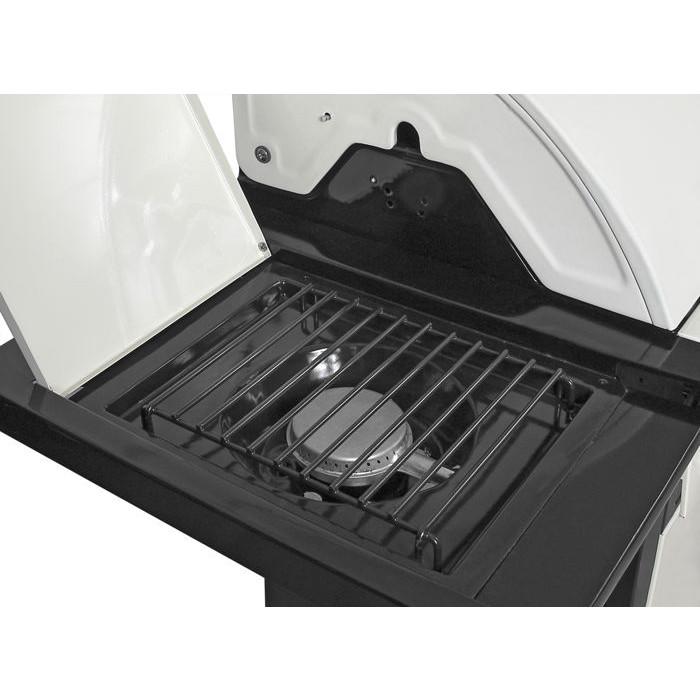 Barbecue gaz 4 feux barbecook vanilla raviday barbecue - Cache bruleur barbecue gaz ...