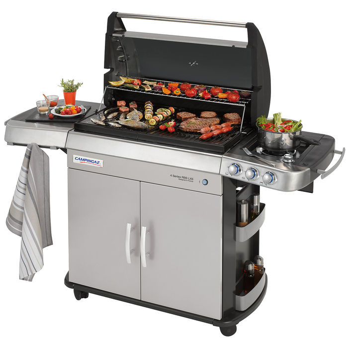 Barbecue gaz campingaz 4 series rbs lxs raviday barbecue - Barbecue campingaz serie 4 ...