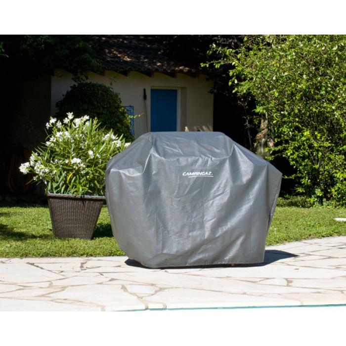 Housse de barbecue renforc e campingaz taille l for Housse barbecue campingaz