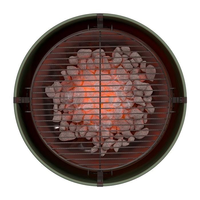 Barbecue tonneau Vert Kaki