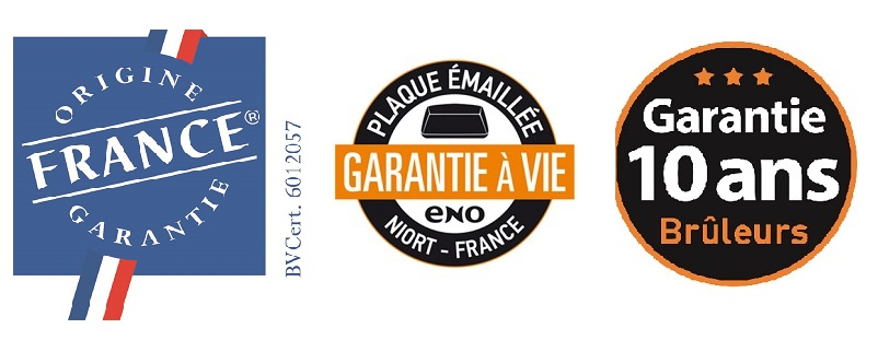 logos ENO garanties origine france