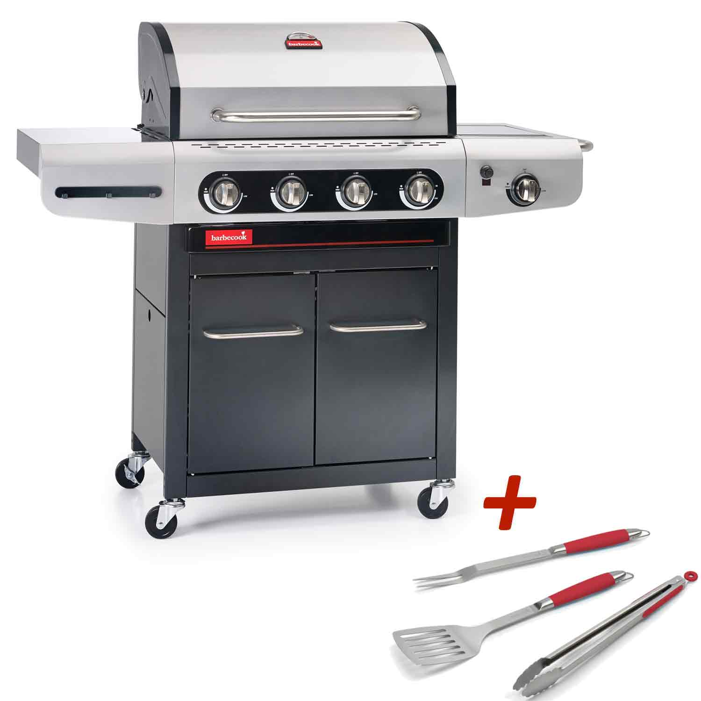 barbecue gaz 4 feux barbecook siesta 412 raviday barbecue. Black Bedroom Furniture Sets. Home Design Ideas
