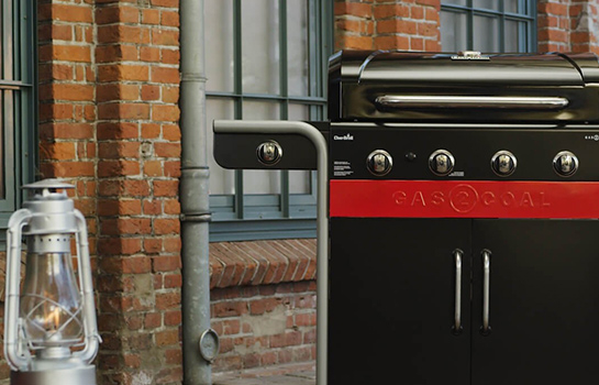 Barbecue mixte CHAR-BROIL Gas2Coal 440