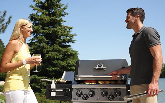 Barbecue à gaz 4 feux Broil King REGAL 490 Pro Inox
