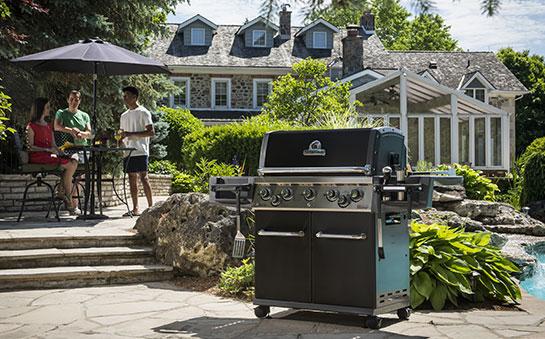 Barbecue à gaz 5 feux Broil King REGAL 590