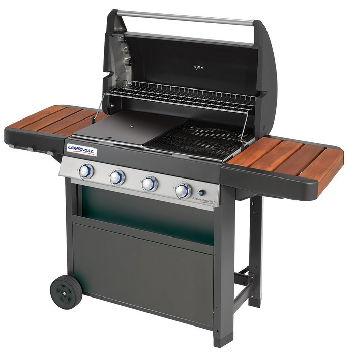 Barbecue gaz campingaz 4 series classic wld raviday for Barbecue a gaz leroy merlin