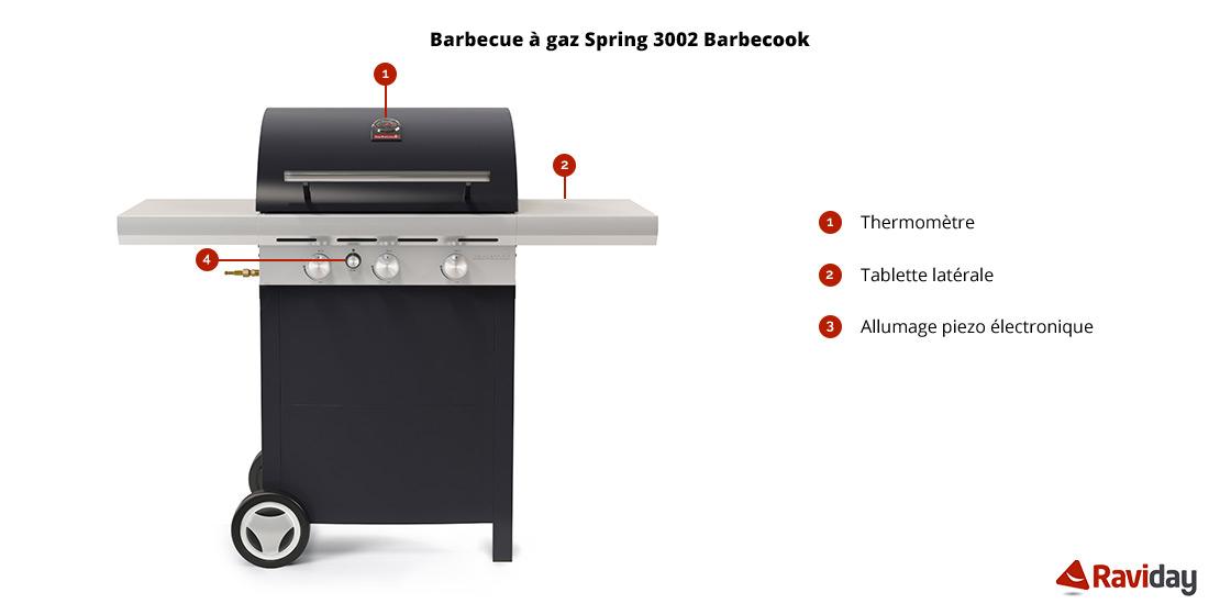 Barbecue Spring 3002 schéma