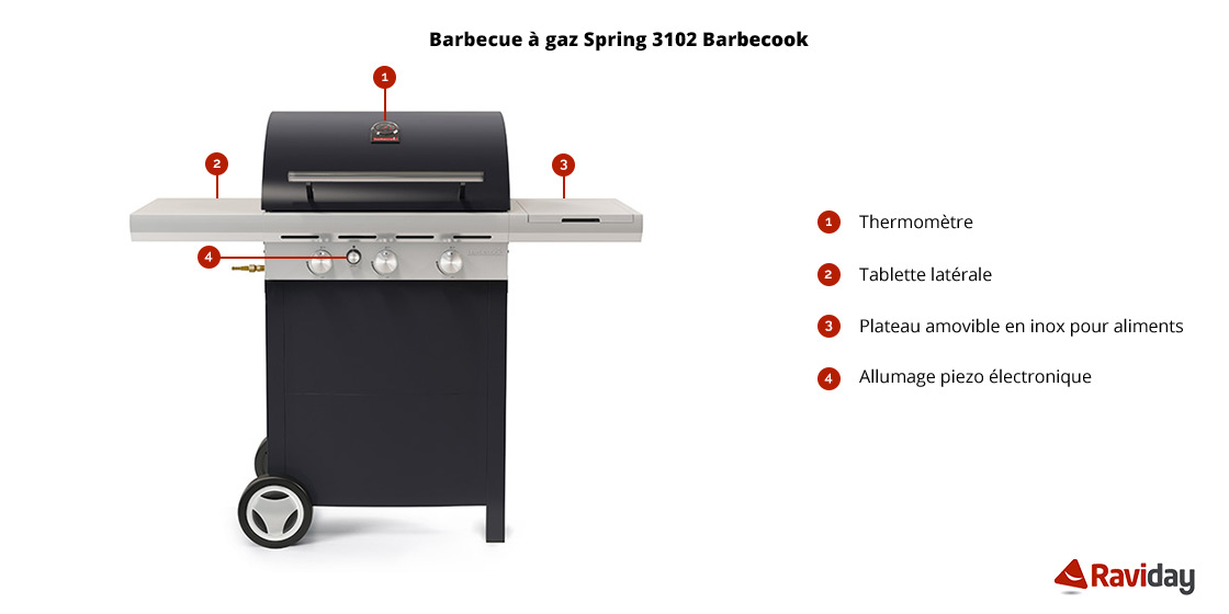 Barbecue Spring 3102 schéma