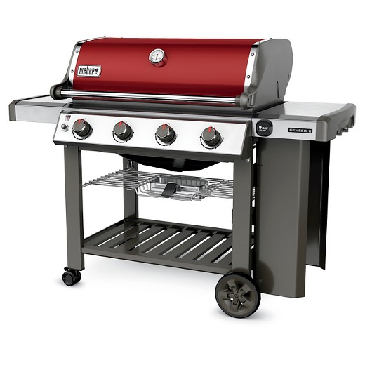 Barbecue Weber E410 Crimson Red Edition limitée