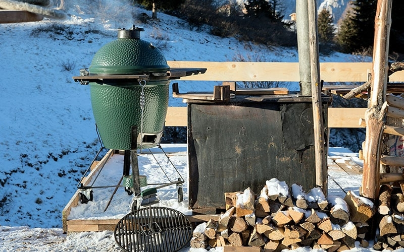 Barbecue céramique Big Green Egg Large - Pack Automne