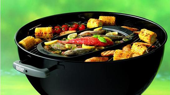 Le Barbecue Compact Kettle bénéficie de la garantie Weber de 10ans sur le couvercle et la cuve