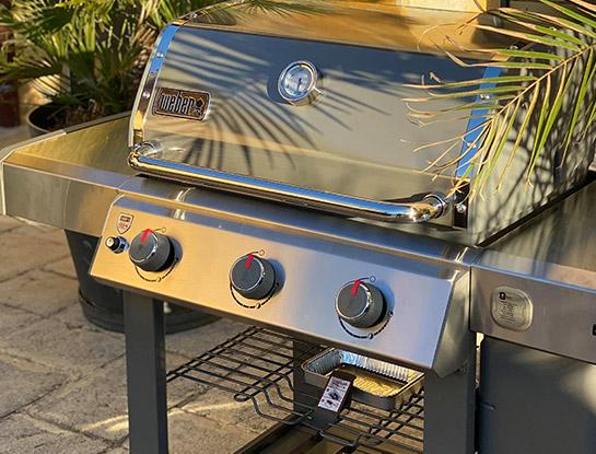 Barbecue à gaz Weber Genesis 2 E-310 Black