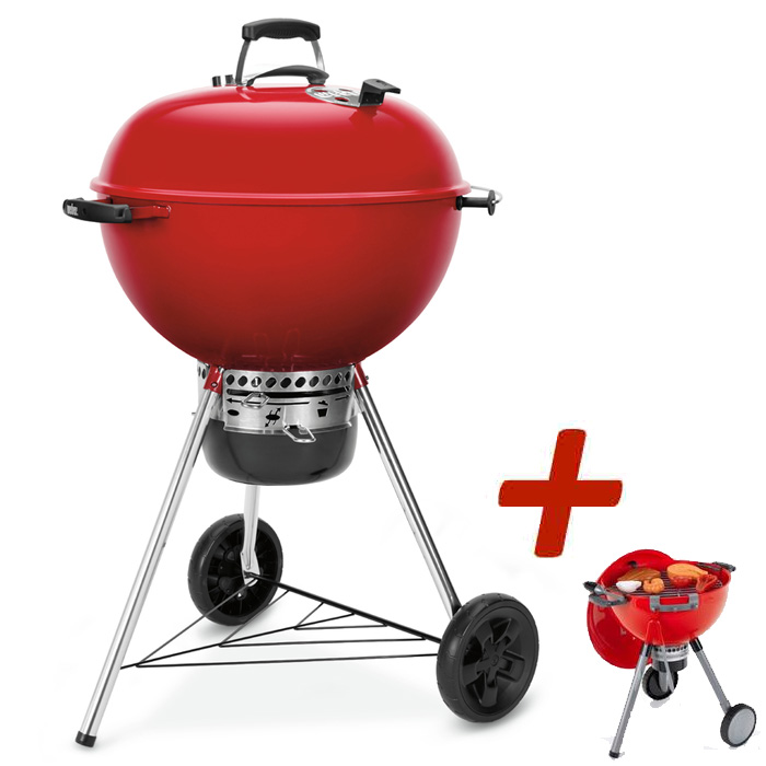 Barbecue Weber Master-Touch Rouge Edition Limitée