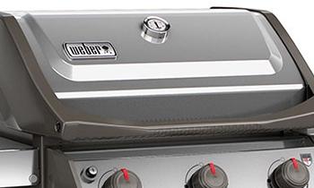 Couvercle du Barbecue à gaz Weber Spirit 2 S-320 GBS Inox