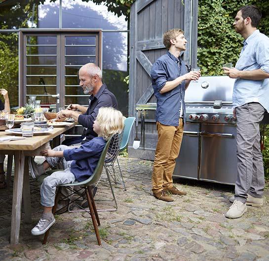 Barbecue à gaz Weber Summit S-670 GBS