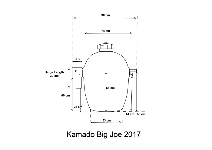 cuve kamado big joe