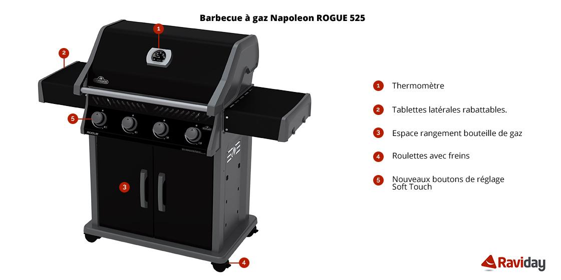 Rogue 525 schéma
