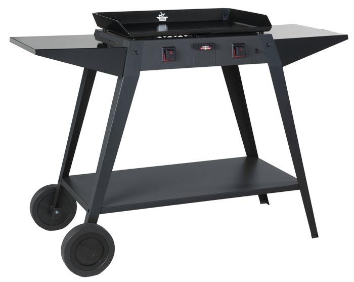 chariot fer forge adour pour plancha baiona 600. Black Bedroom Furniture Sets. Home Design Ideas