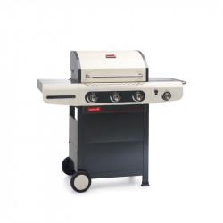 Barbecue à gaz 3 feux Barbecook Siesta 310 Crème
