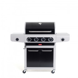 Barbecue à gaz 4 feux Barbecook Siesta 412 Black Edition