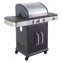 Barbecue à gaz BALTIMORE 3 brûleurs 1 réchaud de SOMAGIC