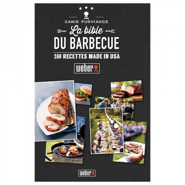 Livre de recettes La Bible Weber du barbecue-