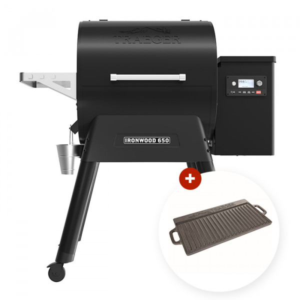 Barbecue à pellets Traeger IRONWOOD 650