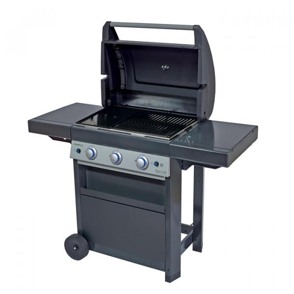Barbecue à gaz Campingaz Class 3 LBD 3 couvercle ouvert