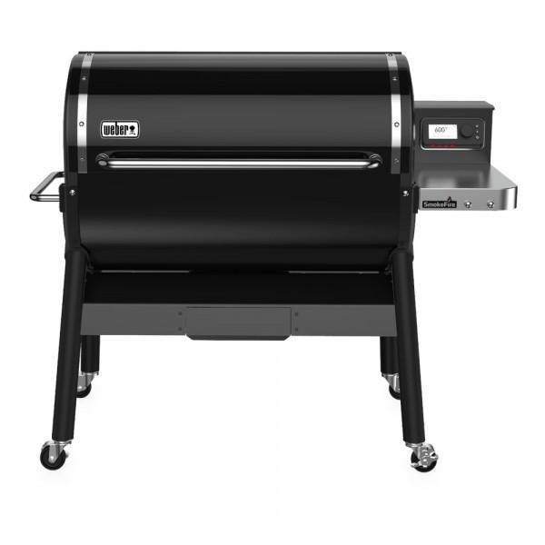 Barbecue à pellets Weber Smokefire EX4 GBS face couvercle fermé