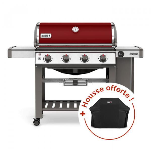 Barbecue à gaz Weber Genesis 2 E-410 GBS Crimson Red