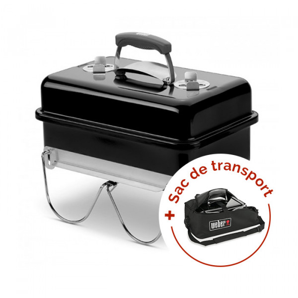 Pack Barbecue Weber Go-Anywhere + Housse