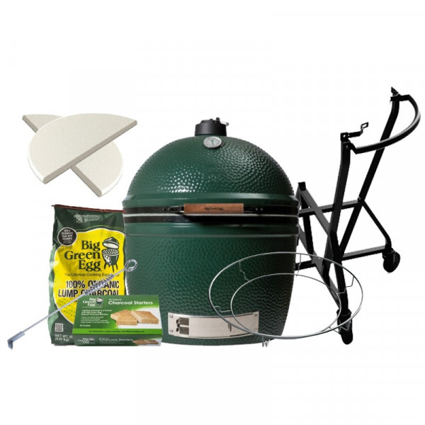 Barbecue kamado Big Green Egg 2XL - Pack Original