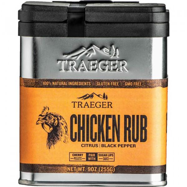 Épices TRAEGER Poulet Chicken Rubs 250 g