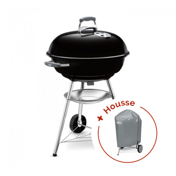 Pack Barbecue Weber Compact Kettle 57 cm + housse