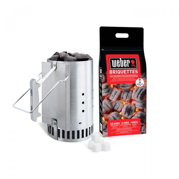 Kit cheminée d'allumage de barbecue Weber RapidFire