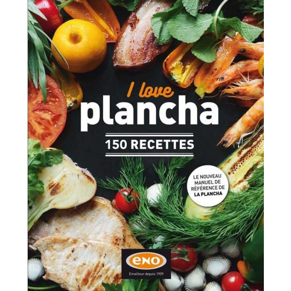 """Livre de 150 recettes """"I love plancha"""" ENO"""
