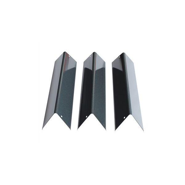 Lot de 3 barres Flavorizer pour Weber Spirit série 200 (boutons en façade)