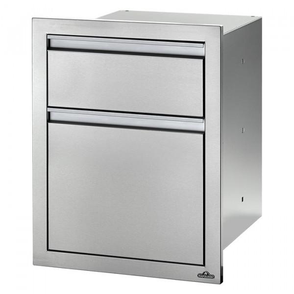 Module encastrable 2 tiroirs pour cuisine d'extérieur Napoleon