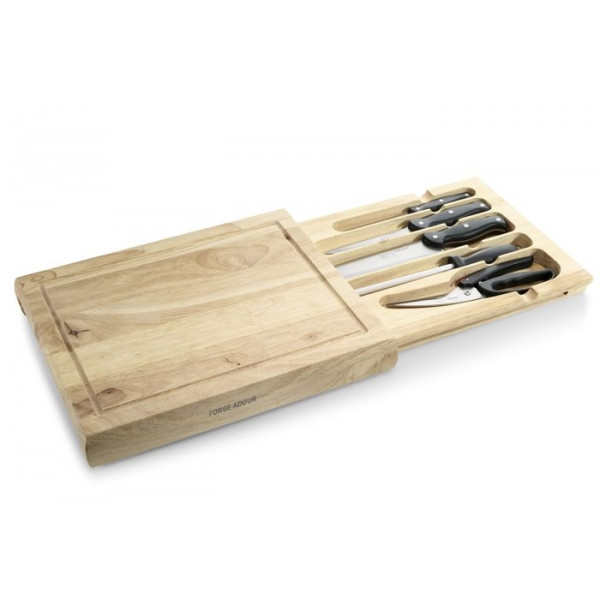 Planche à découper avec couteaux Forge Adour