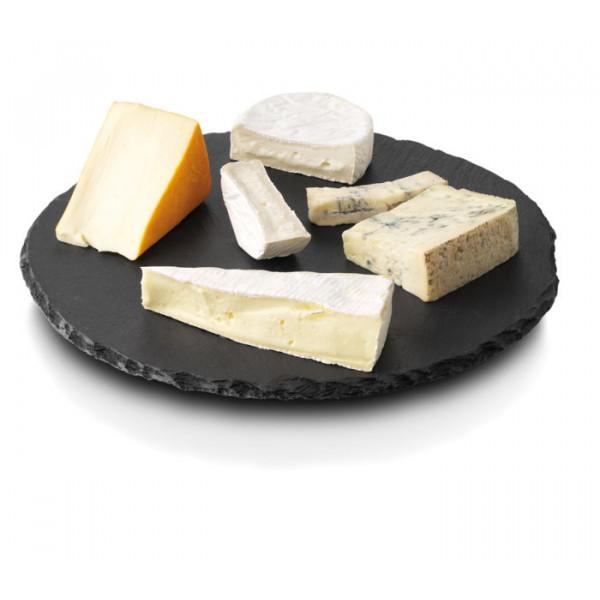 Plateau à fromage en ardoise Ø30 cm Boska Lazy Susan
