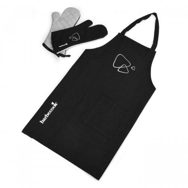 Set tablier + paire de gants Barbecook