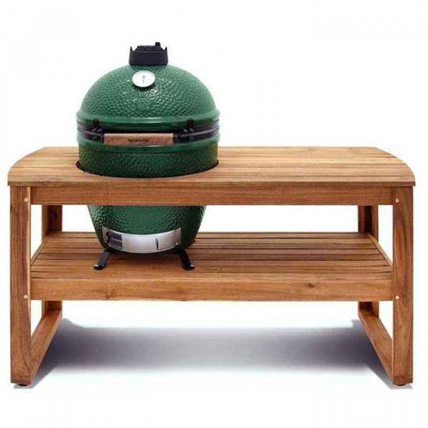 Table Acacia pour Barbecue Big Green Egg Large