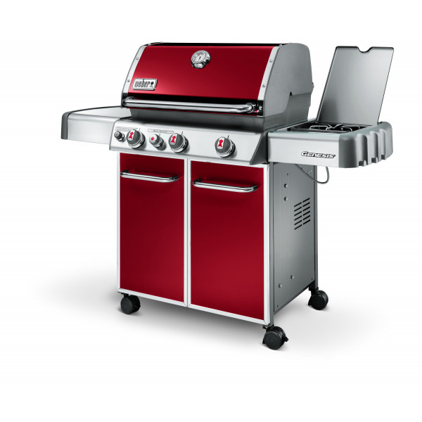 Weber Barbecue à gaz Genesis E-330 GBS Crimson Red