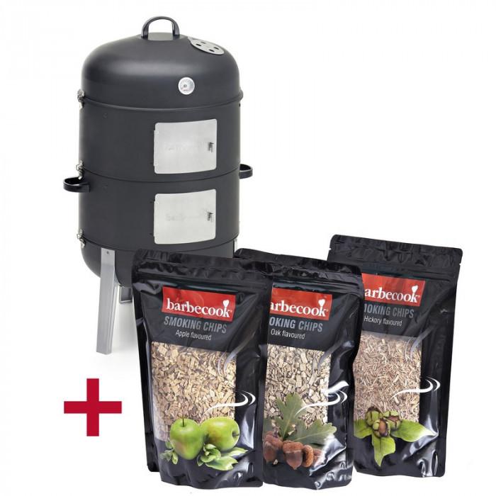 Fumoir barbecook xl 3 sachets de copeaux de bois for Copeaux de bois pour fumoir
