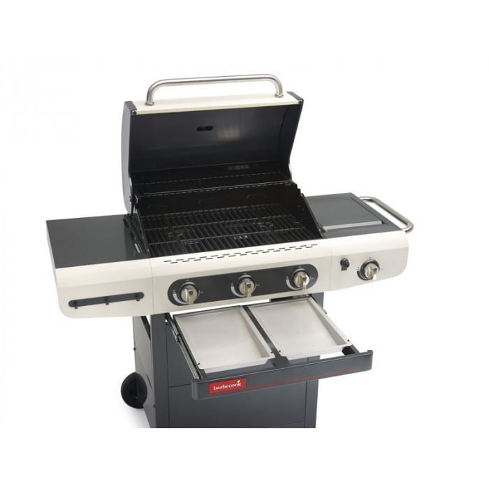 Barbecue gaz 3 feux barbecook siesta 310 cr me - Barbecue gaz avec rotissoire ...