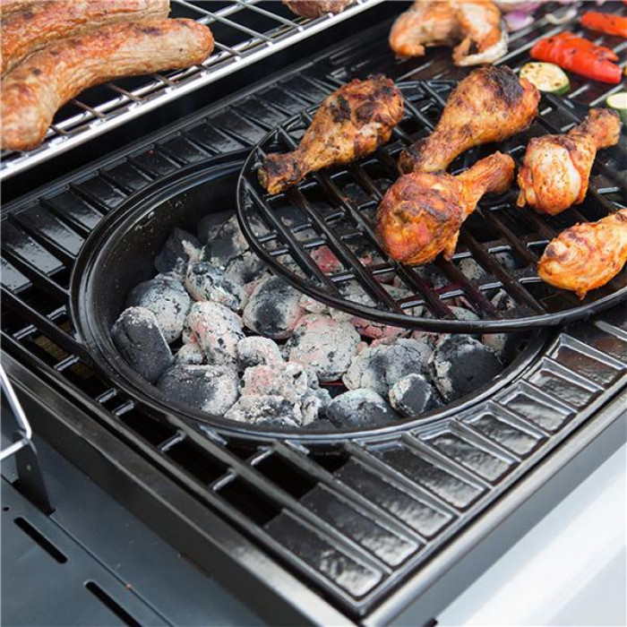 Modular Bbq Outdoor Kitchen: Adaptateur Charbon De Bois Culinary Modular Pour Barbecues